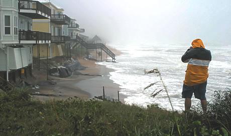 Vilano Beach Storm Erosion
